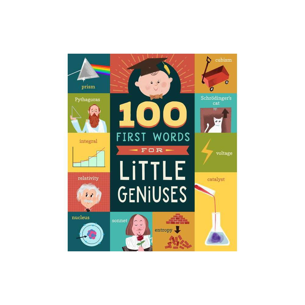 100 First Words For Little Geniuses By Tyler Jorden Board Book