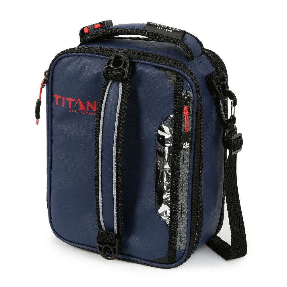 Image of Arctic Zone Titan Deep Freeze Expandable Lunch Box - Navy, Blue