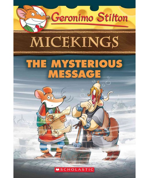 Mysterious Message (Paperback) (Geronimo Stilton) - image 1 of 1