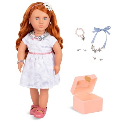 """Our Generation 18"""" Doll with Jewelry Box & Pierced Ears - Julissa"""
