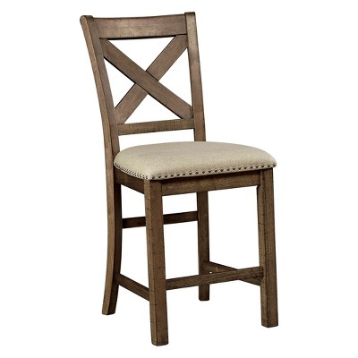 Moriville Upholstered Counter Height Barstool Beige - Signature Design by Ashley