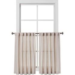 """42""""x36"""" Curtain Tier Bonaire Beige - Threshold™"""