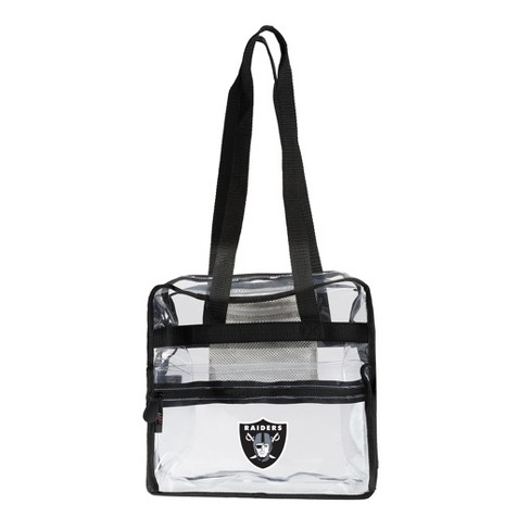 NFL Oakland Raiders The Northwest Co. Clear Zone Stadium Tote - image 1 of 1