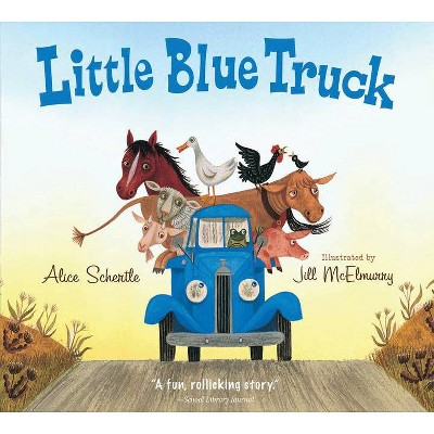 Little Blue Truck (Padded Board Book)- by Alice Schertle (Board_book)