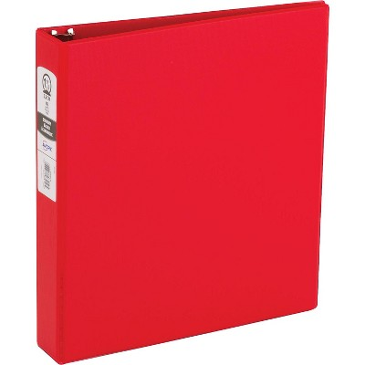 """Avery Economy Standard 1.5"""" 3-Ring Non-View Binder Red (03410) 138735"""
