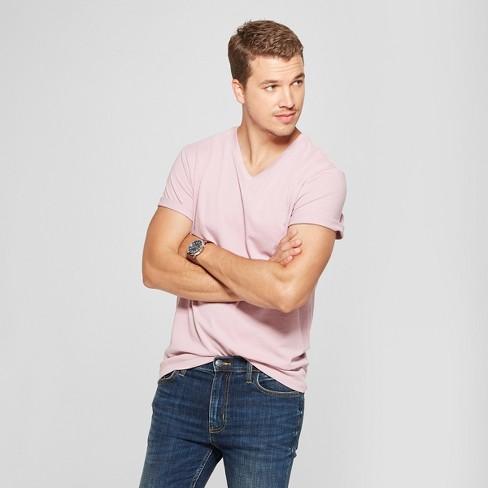 Men's Standard Fit V-Neck Short Sleeve T-Shirt - Goodfellow & Co™ - image 1 of 3