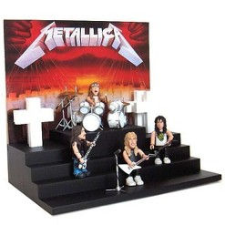 Stevenson Entertainment Metallica Master Of Puppets Smiti Figure Playset