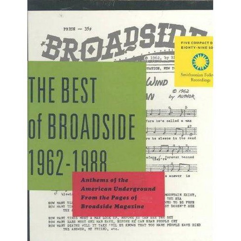 Best Of Broadside 1962-1988 - Best Of Broadside 1962-1988: Anthems Of... (Box) (CD) - image 1 of 1