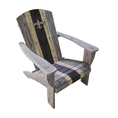 NFL New Orleans Saints Wooden Adirondack Chair : Target
