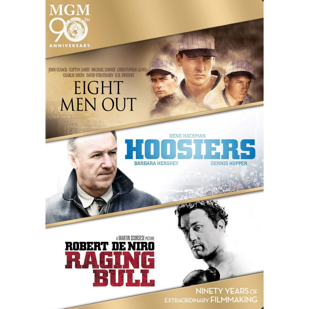 Eight men out/Hoosiers/Raging bull (Dvd)