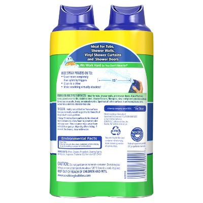 Scrubbing Bubbles Mega Shower Foamer Bathroom Cleaner, 2ct, 20 Fl Oz. Shop  All Scrubbing Bubbles