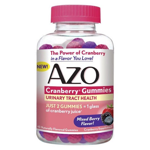 AZO Cranberry  Urinary Tract Health Gummies 40ct - image 1 of 1