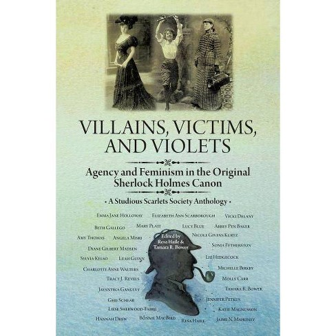 Villains, Victims, and Violets - (A Studious Scarlets Society Anthology) (Paperback) - image 1 of 1