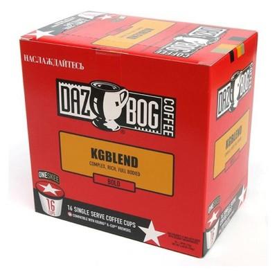 DazBog Coffee KGBlend Dark Roast Coffee - Keurig K-Cups - 16ct