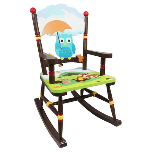Enchanted Woodland Rocking Chair Wood - Teamson - image 1 of 4