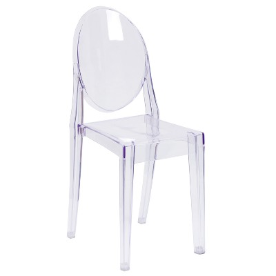 Riverstone Furniture Collection Stacking Side Chair Clear