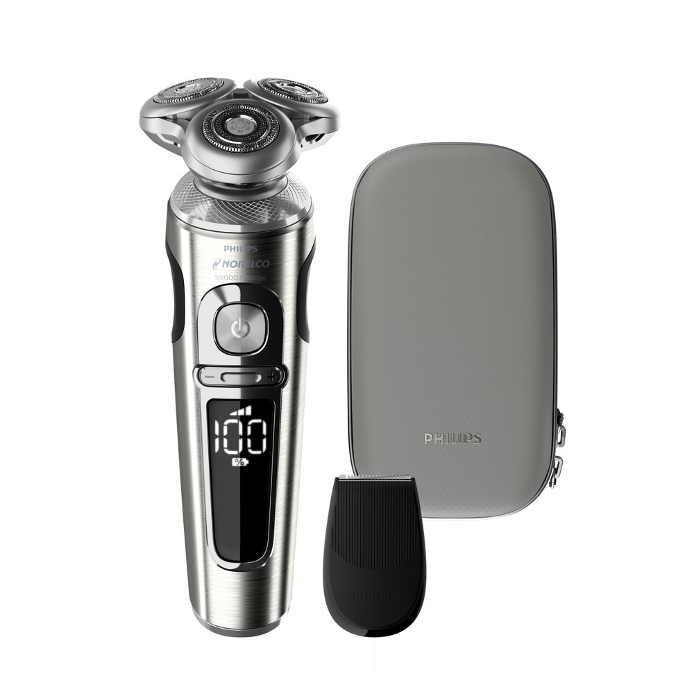 Image of Philips Norelco Series 9820 Wet & Dry Men's Rechargeable Electric Shaver - SP9820/87