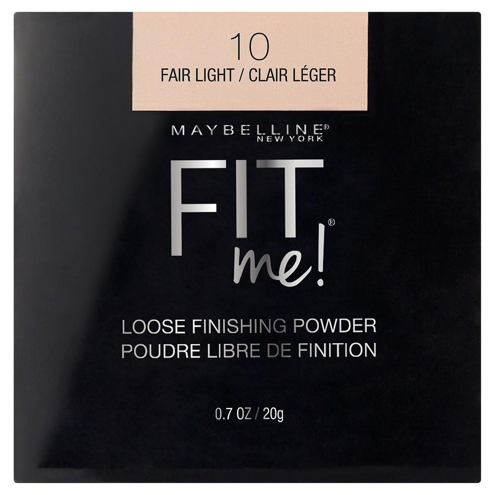 Maybelline Fit Me Loose Powder 10 Fair Light 0 7oz