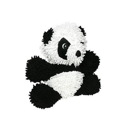 Mighty Microfiber Ball Panda Dog Toy - M