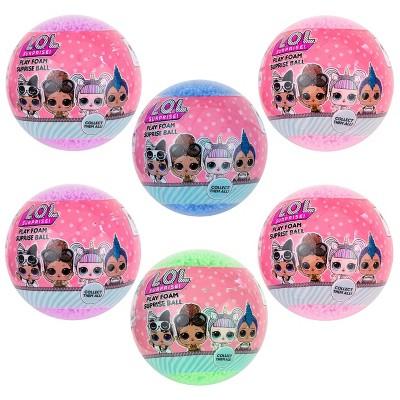 L.O.L. Surprise! 6pk Foam Series Surprise Ball