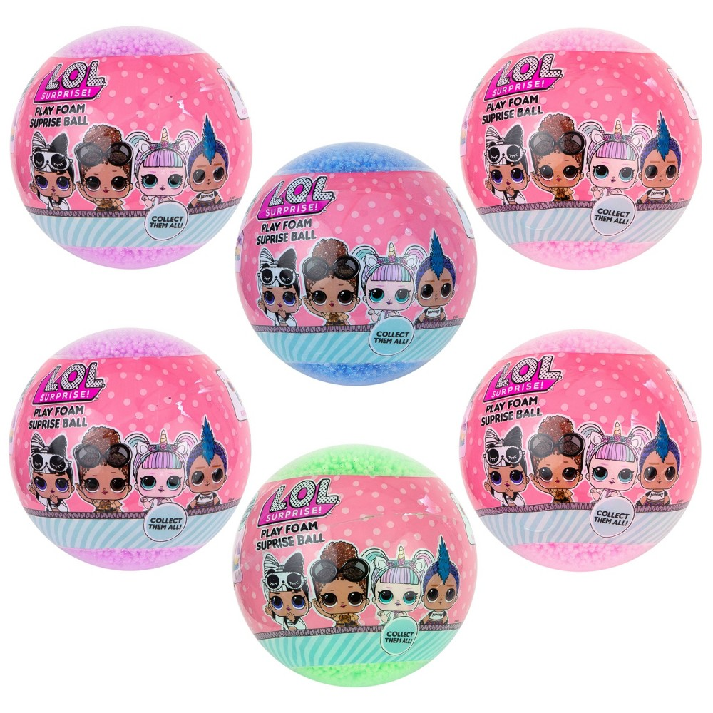L O L Surprise 6pk Foam Series Surprise Ball