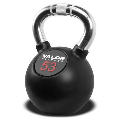 Valor Fitness CKB-53 Chrome Kettlebell - 53lb