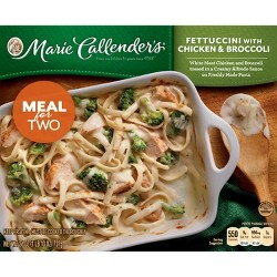 Marie Callender's Frozen Meal For Two Fettucchini With Chicken & Broccoli - 26oz