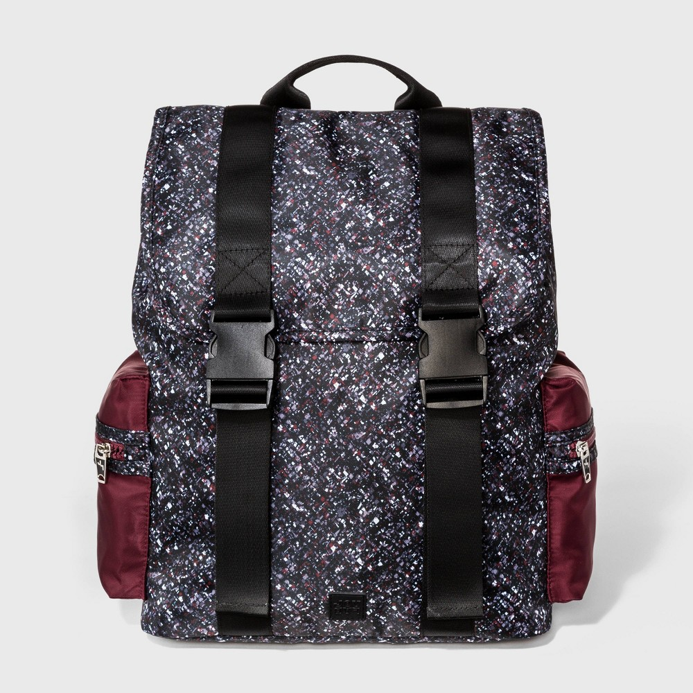 Image of Flap Confetti Print Backpack - JoyLab Black, Women's, Size: Large