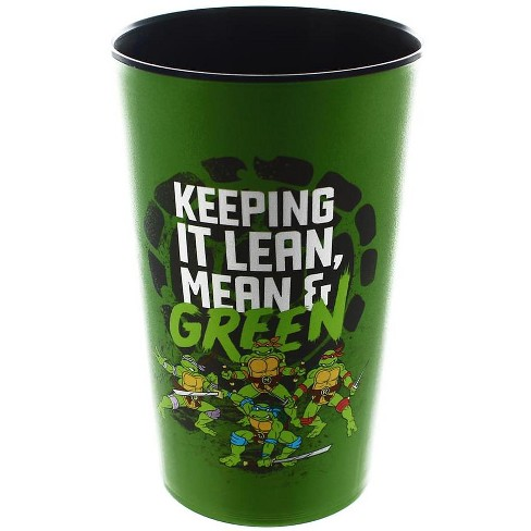 "Just Funky Teenage Mutant Ninja Turtles ""Keep Green"" 32oz Color Change Stadium Cup - image 1 of 1"