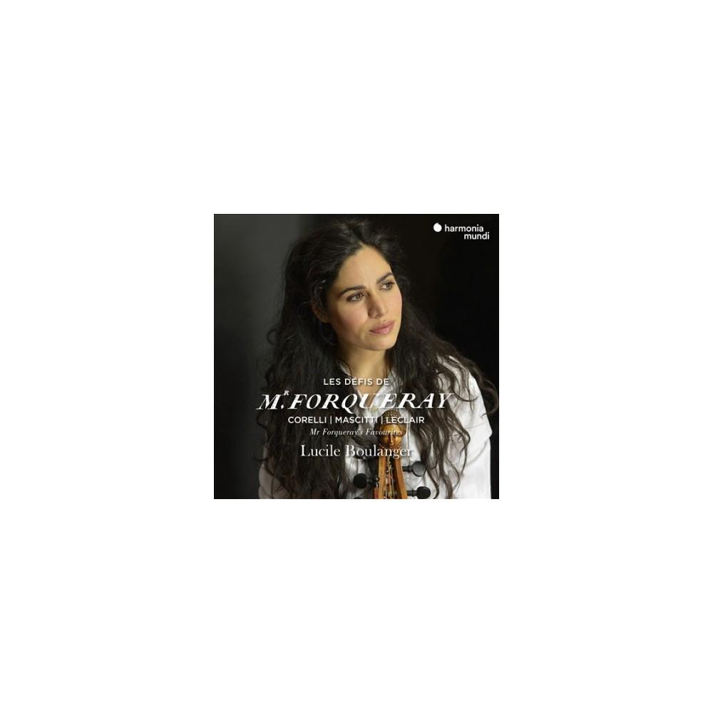 Lucile Boulanger - Les Defis De Mr Forqueray:Mr Forquera (CD)