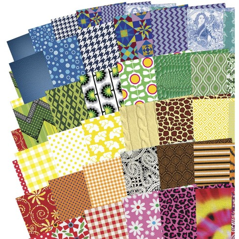 Roylco All Kinds of Fabric Paper - image 1 of 2