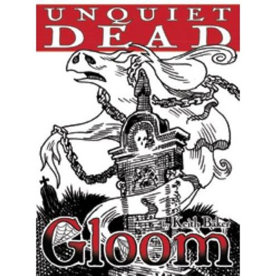 Gloom - Unquiet Dead (1st Edition) Board Game