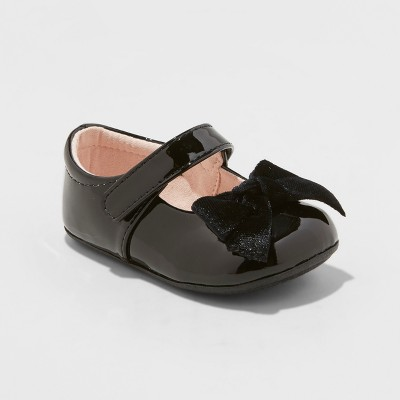 Infant Girls' Dayja Ballet Flats - Cat & Jack™ Black 5