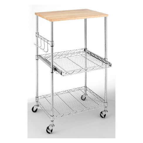 Whitmor Supreme Microwave Cart - image 1 of 1