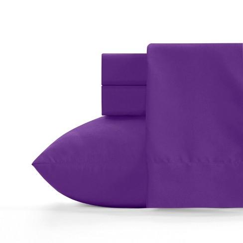 Microfiber Sheet Set Royal Purple - Crayola - image 1 of 2