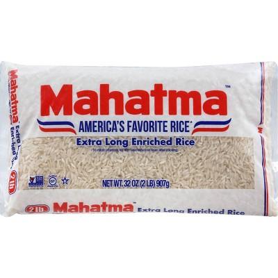 Mahatma Enriched Extra Long Grain Rice - 2lbs