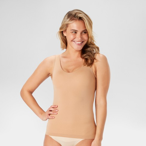 2a60359cd69 Assets By Spanx Women s All Around Smoothers Shaping Reversible Tank    Target