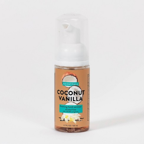 Scentfull Foaming Hand Sanitizer Coconut Vanilla - Trial Size - 1.7 fl oz - image 1 of 3