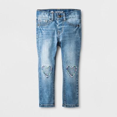 Toddler Girls' Jeans - Cat & Jack™ Medium Wash 12M
