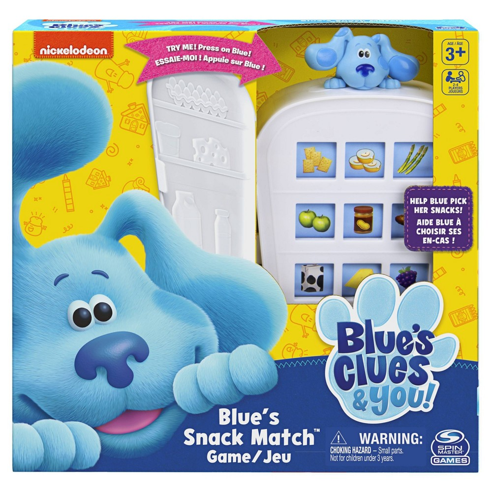 Blues Clues Snack Match Game