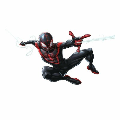 Spider-Man Miles Morales Peel and Stick Giant Wall Decal
