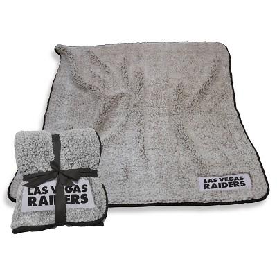 NFL Las Vegas Raiders Frosty Fleece Throw Blanket