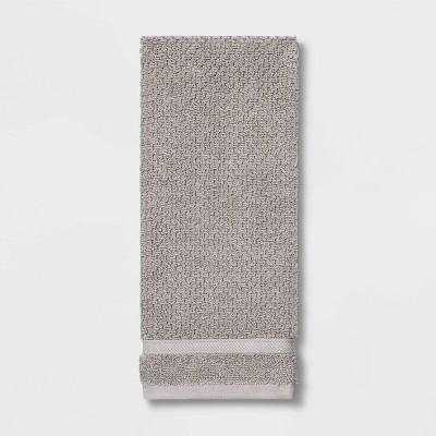 Performance Texture Hand Towel Gray - Threshold™