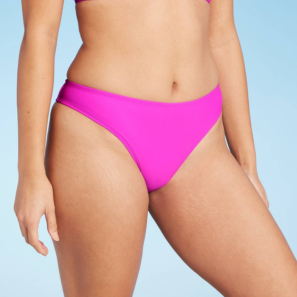 Juniors 39 Hipster Bikini Bottom Xhilaration 8482 Magenta Pink S