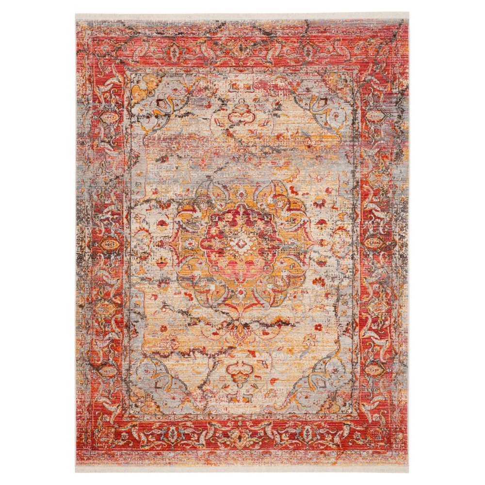Vintage Persian Rug - Pink/Multi - (5'X7'6) - Safavieh