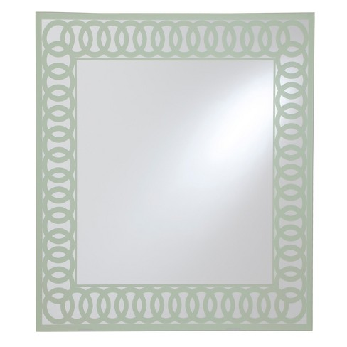 Decorative Wall Mirror Breeze Point Lt Sage - image 1 of 3