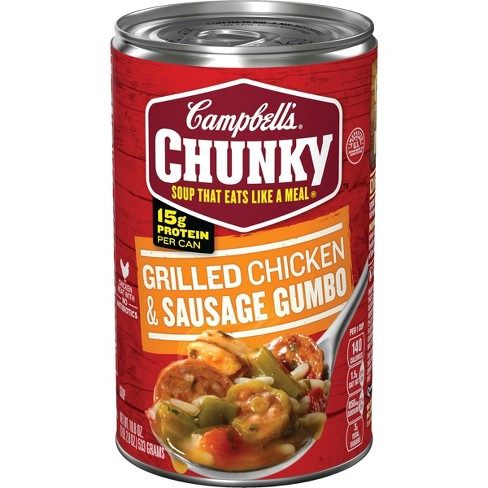 Campbell's® Chunky™ Grilled Chicken & Sausage Gumbo Soup 18.8 oz - image 1 of 5
