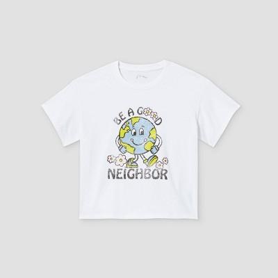 Girls' Boxy Graphic Short Sleeve T-Shirt - art class™