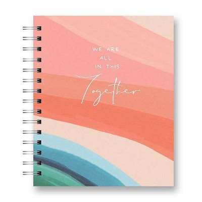 "208 sheet 1 Subject Spiral Notebook Tabbed 8.25""x6.875"" We Are All in This Together 208pgs - OCS Designs"