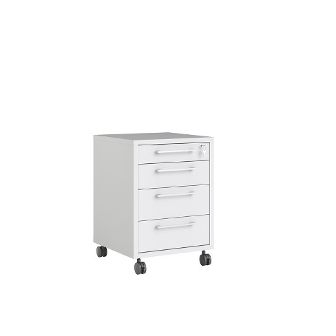 Pierce 4 Drawer File Cabinet in White - Tvilum - image 1 of 3